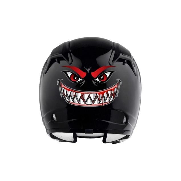 Sticker casque moto